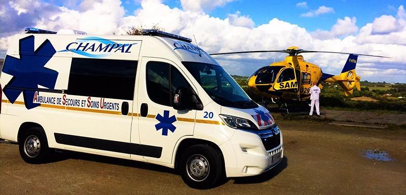 services d'ambulanciers à Crozon   Ambulances Champal