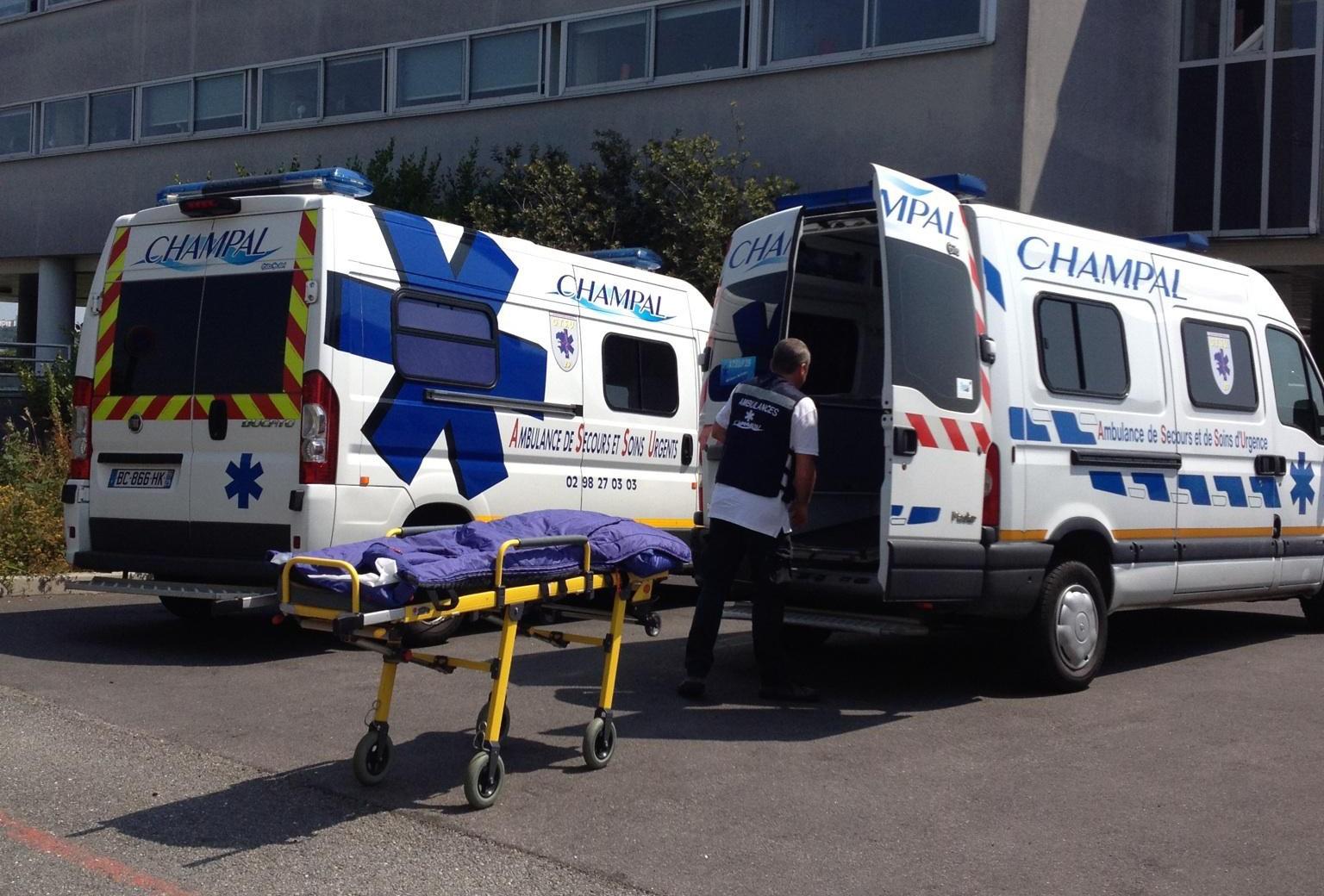 ambulances de secours et soins d'urgence à Crozon | Ambulances Champal